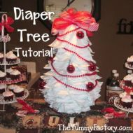Diaper Tree Tutorial