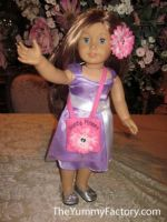 Dolly and Girl Purse Set