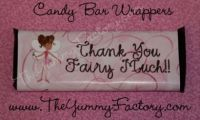 Thank You Fairy Candy Bar Wrapper