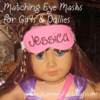 Dolly and Girl Eye Mask Set